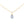 Load image into Gallery viewer, Tiny Rainbow Moonstone Drop Necklace