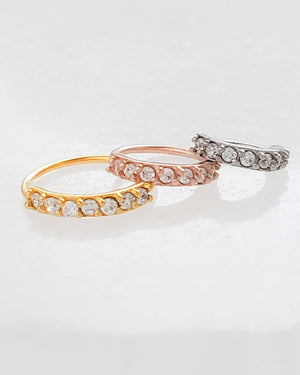 CZ Diamond Sparkle Hoops