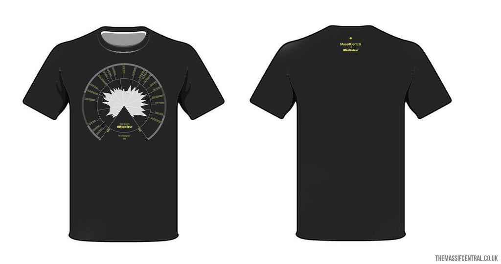 #NoGoTour T-Shirt-Apparel-MassifCentral