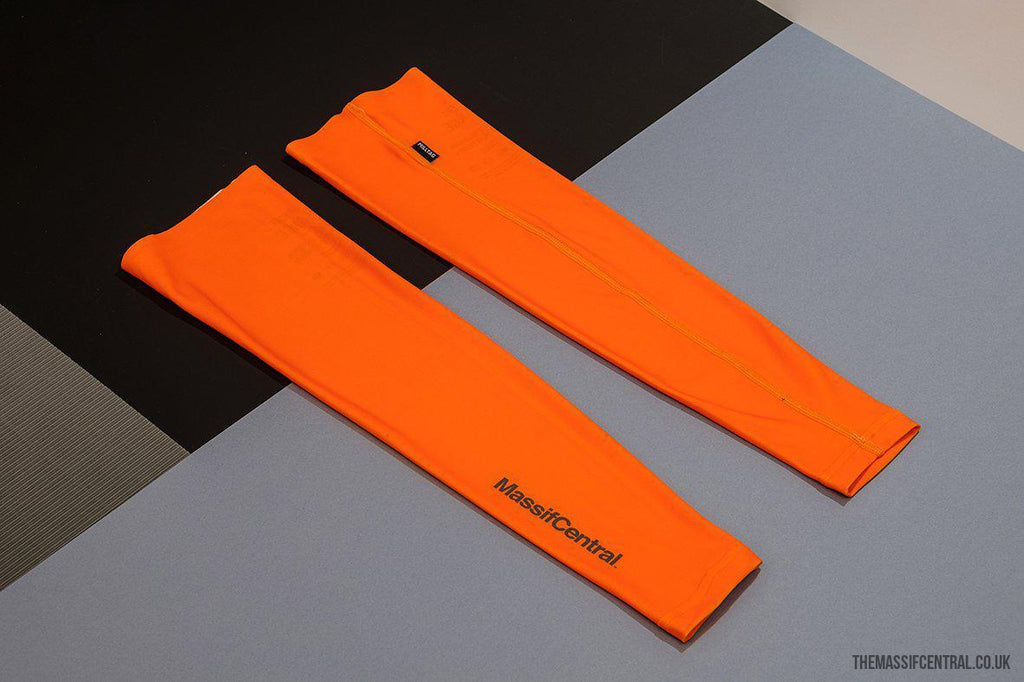 2019 Arm Warmers - Orange-Apparel-MassifCentral