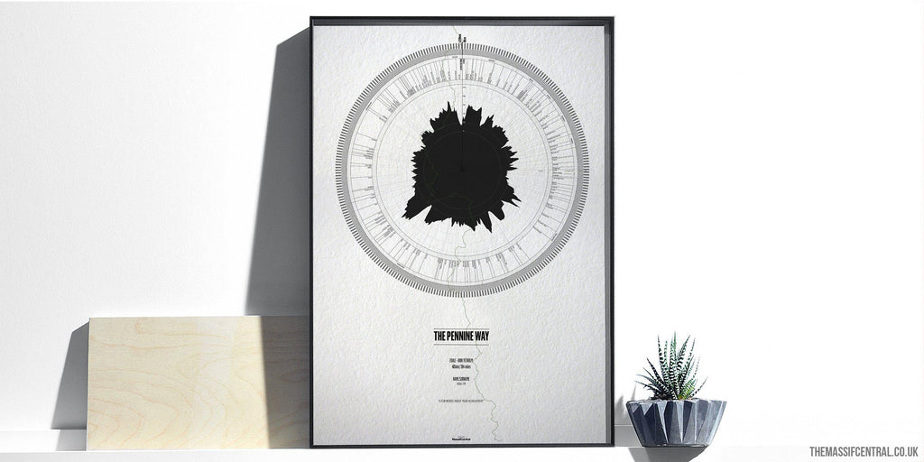 The Pennine Way-Personalised Print-MassifCentral