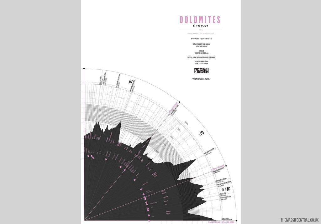 Haute Route 2016 - Compacts-Personalised Print-MassifCentral