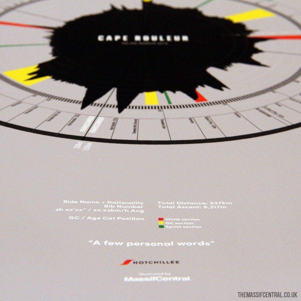 HotChillee / Cape Rouleur-Personalised Print-MassifCentral