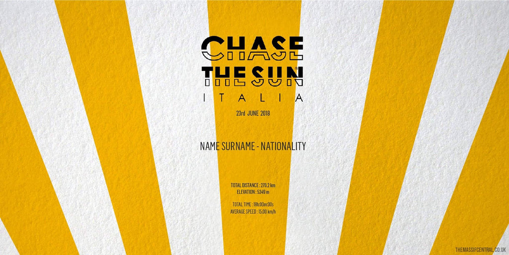 Chase The Sun - Italian Edition-Personalised Print-MassifCentral