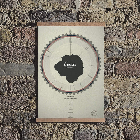 Eroica Britannia - 30 mile route 2016-Personalised Print-MassifCentral