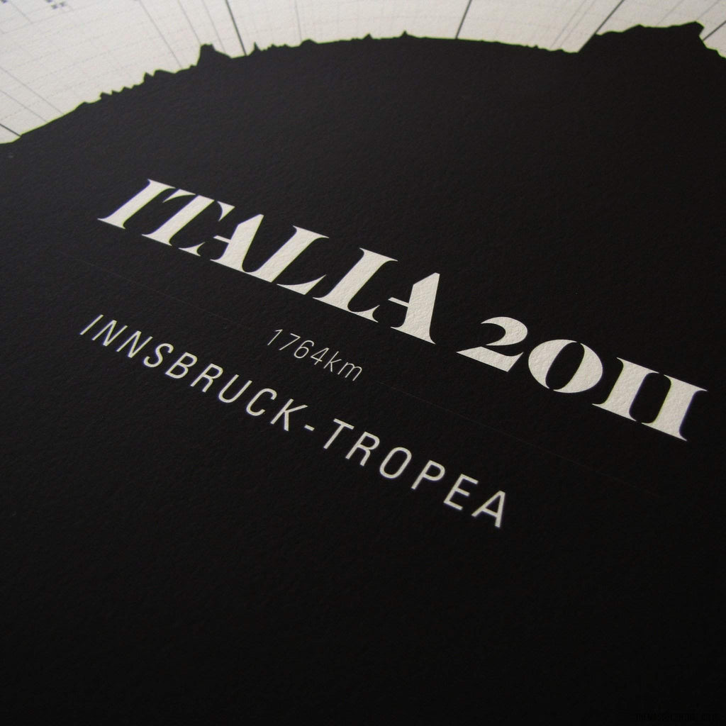 Italia 2011 Top to Bottom-Bespoke Print-MassifCentral