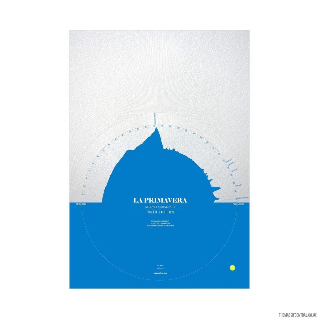 La Primavera - 2015 Blue-Limited Edition Print-MassifCentral