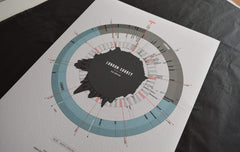Ride London-Surrey 100 - all editions-Personalised Print-MassifCentral
