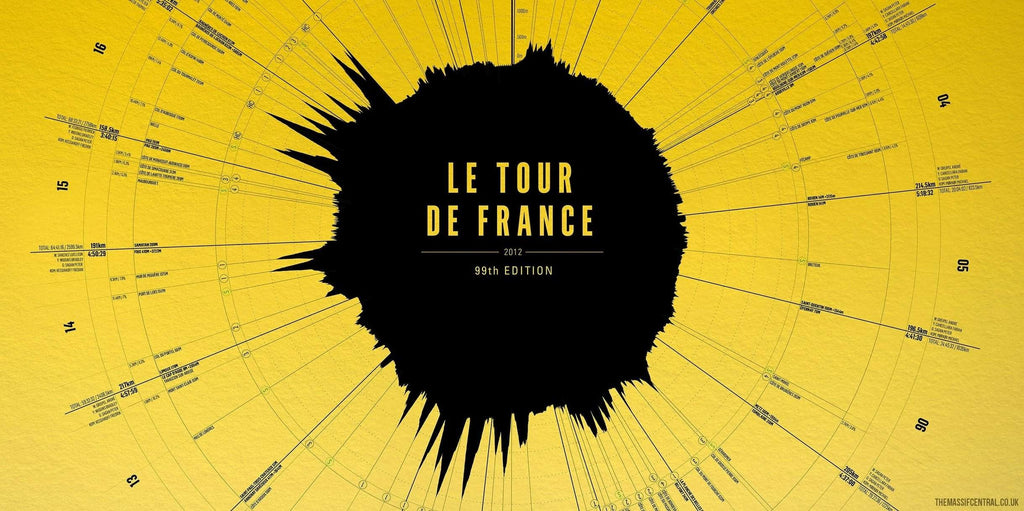 Le Tour de France - 2012-Limited Edition Print-MassifCentral