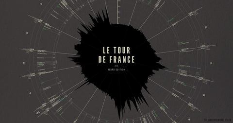 Le Tour de France - 2016-Limited Edition Print-MassifCentral