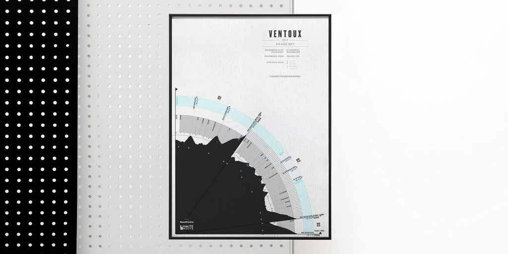 Haute Route Mt Ventoux - All Editions-Personalised Print-MassifCentral