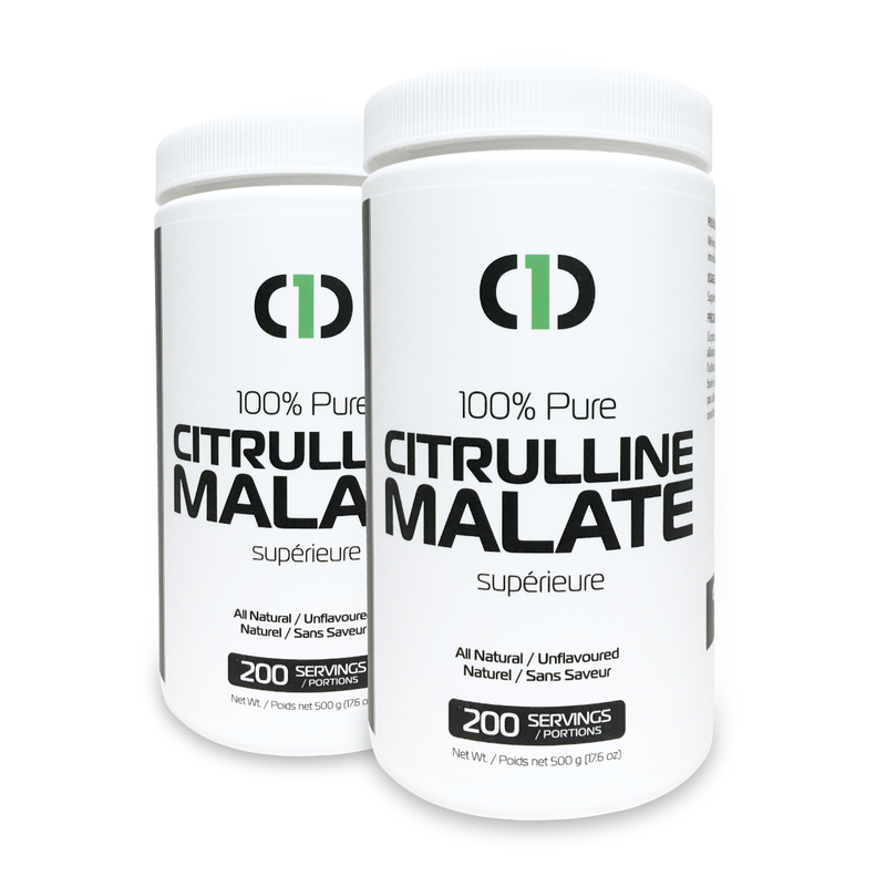 BUNDLE | 2 x Citrulline Malate 100% Pure VEGAN (2 x 500g)