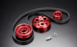 Toda Racing Light Weight Front Pulley KIT + Toda Racing Idler and Tensioner Kit