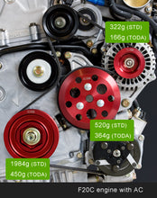 Load image into Gallery viewer, Toda Racing Light Weight Front Pulley KIT + Toda Racing Idler and Tensioner Kit