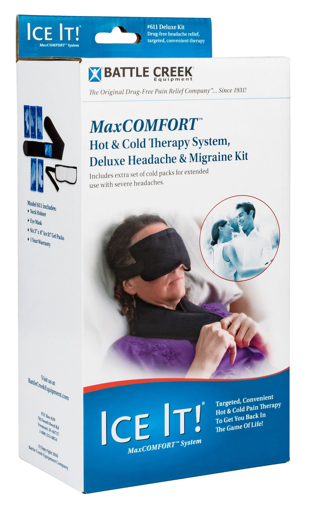 Ice It!® Deluxe Headache & Migraine Kit™