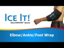 "Load and play video in Gallery viewer, Ice It!® Ankle/Elbow/Foot System (10½"" x 13"")"