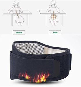 Lower Back Self heating Magnetic Therapy Belt
