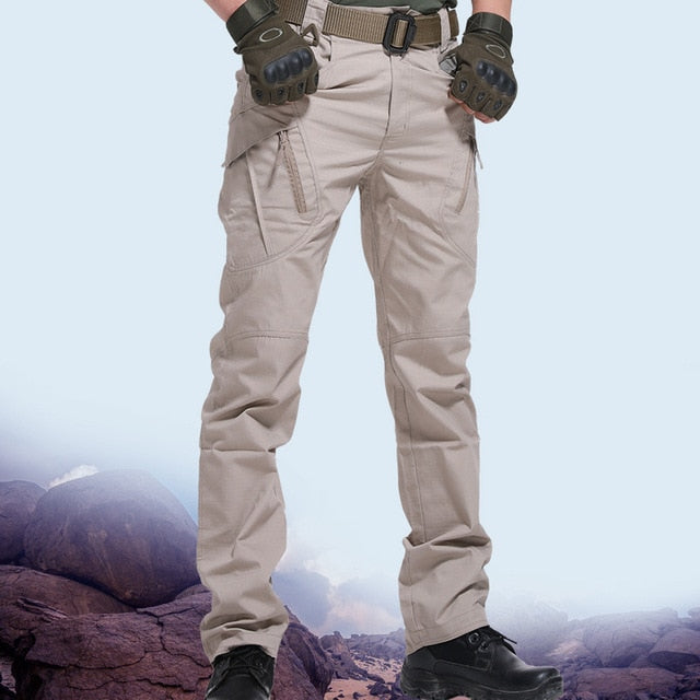 City Military Tactical Pants Men SWAT Combat Army Trousers Men Many Pockets Waterproof  Wear Resistant Casual Cargo Pants 2020