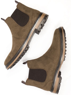 Continental Chelsea Boots Dark Brown