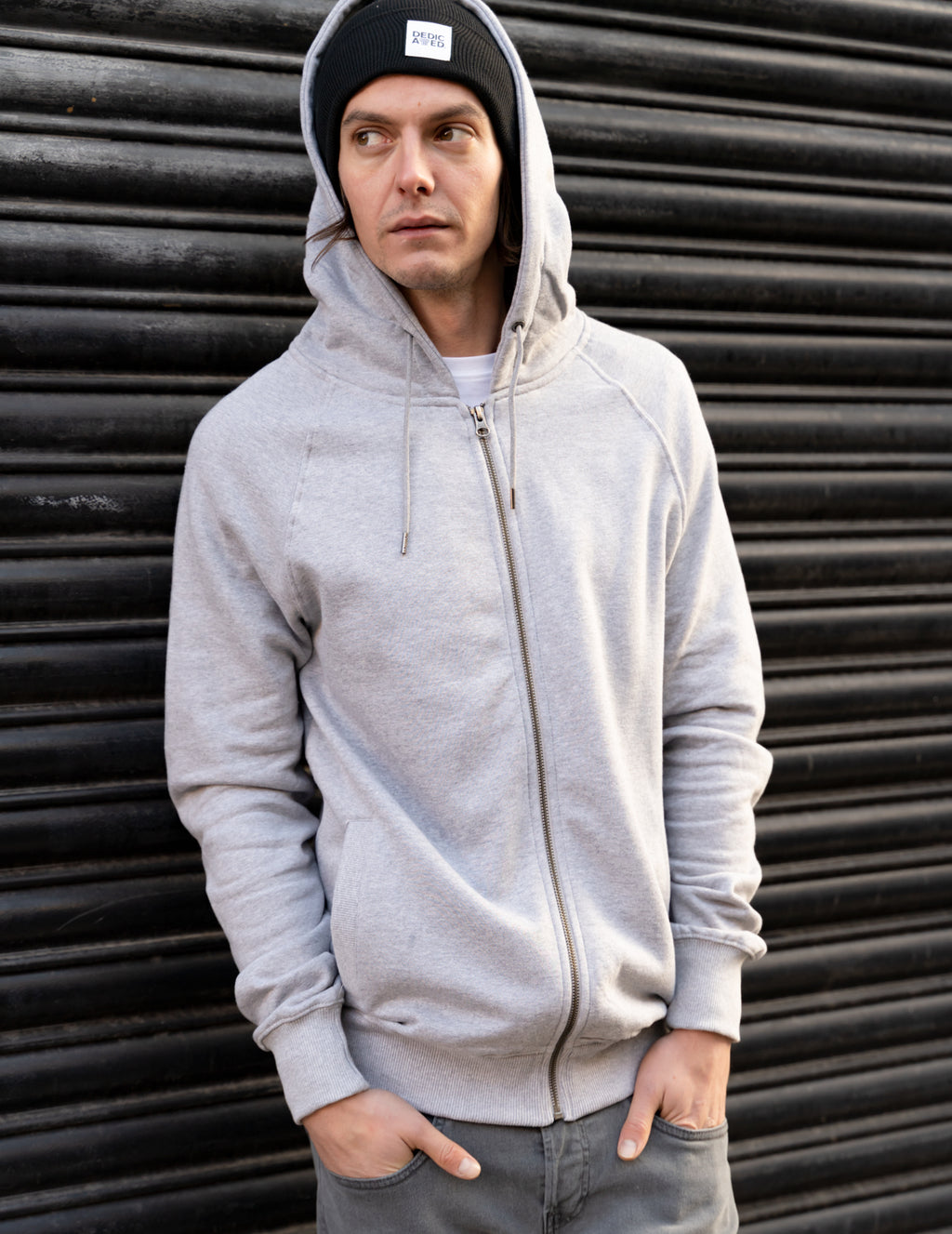 No Limits Organic Cotton Zip Hood