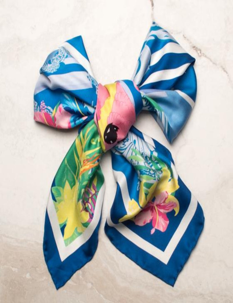 The Cockatoo Silk Scarf