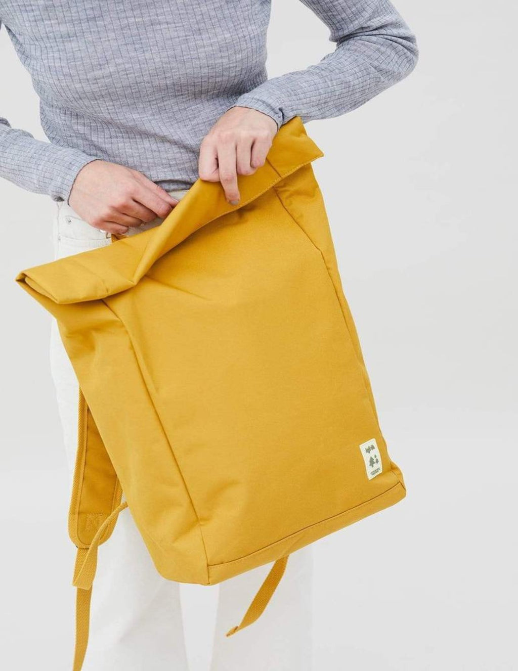 ROLL BACKPACK MUSTARD