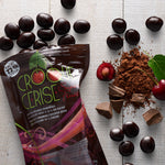 Dried Cherries Coated with Dark Chocolate