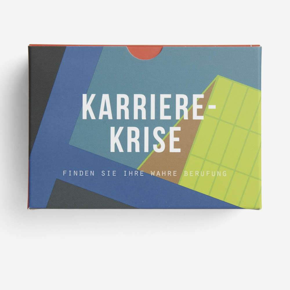 KARRIERE KRISE | interaktives KARTENSET zur Überwindung von Karriere-Krisen | 60 Karten | The School of Life - Charles & Marie