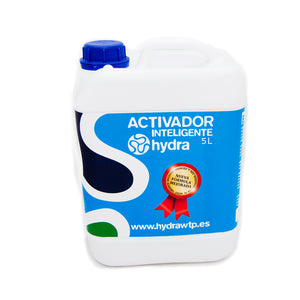 Bottle of activator for hydroprinting 5 liters
