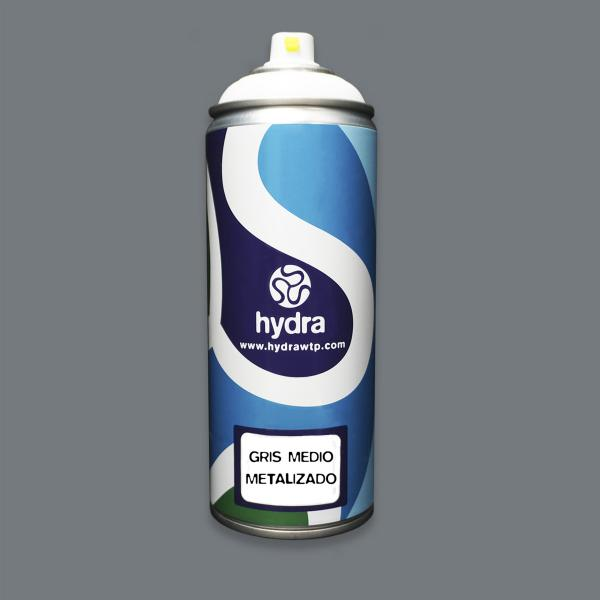 GRIS METALIZADO MEDIO HYDRA 400ML