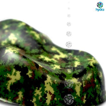 Load image in gallery viewer, HCA-144 tropical MARPAT camouflage hydroprint sheet