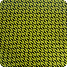 Load image in gallery viewer, HCC-001 yellow carbon-chrome hydrographic sheet