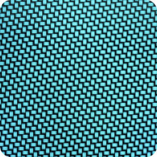Load image in gallery viewer, HCC-004 blue carbon-chrome hydrographic sheet