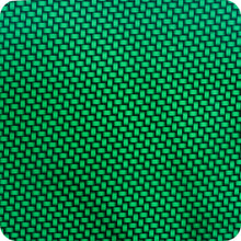 Load image in gallery viewer, HCC-002 green carbon-chrome hydrographic sheet