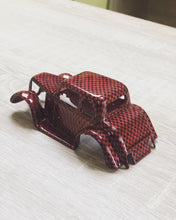 Load image in gallery viewer, Miniature car HFC-101 CLASSIC carbon fiber hydroprinting sheet