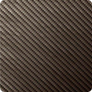 HFC-132 Carbon fiber film with black and silver colors.