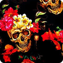 Load image in gallery viewer, HLC-049 skull flames transfer paper
