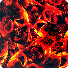 Load image in gallery viewer, HLC-055 Flames and skulls hydroimpression sheet