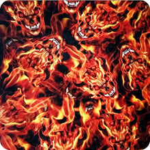 Load image in gallery viewer, HLC-059 Flames and skulls hydroimpression sheet
