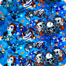 Load image in gallery viewer, HLC-060 skull flames transfer paper