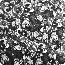 Load image in gallery viewer, HLC-072 Flames and skulls hydroimpression sheet