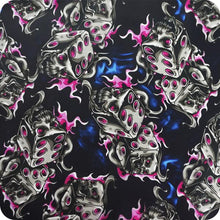 Load image in gallery viewer, HLC-087 Flames and skulls hydroimpression sheet