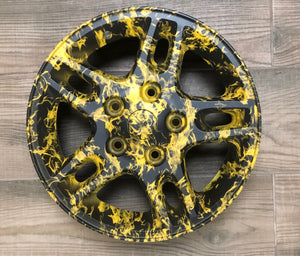 HLC-008 HYDROPRINT TIRES | skull flames transfer paper