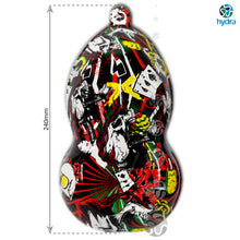 Load image in gallery viewer, HLC-052 Flames and skulls hydroimpression sheet