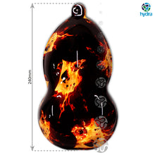 Load image in the gallery viewer, HLC-058 hydroprinting transfer paper flames skulls