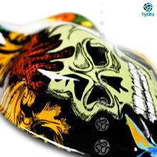 Load image in gallery viewer, HLC-063 Flames and skulls hydroimpression sheet