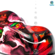 Load image in gallery viewer, HLC-071 Flames and skulls hydroimpression sheet