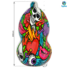 Load image in gallery viewer, HLC-077 Flames and skulls hydroimpression sheet