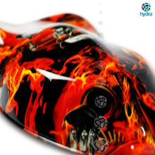 Load image in gallery viewer, HLC-078 Flames and skulls hydroimpression sheet