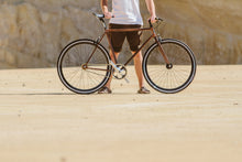 Load image in the gallery viewer, HMA-133 Bicycle decorated with wood hydroprinting